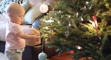 Kako zapravo izgleda Božić s bebom u kući