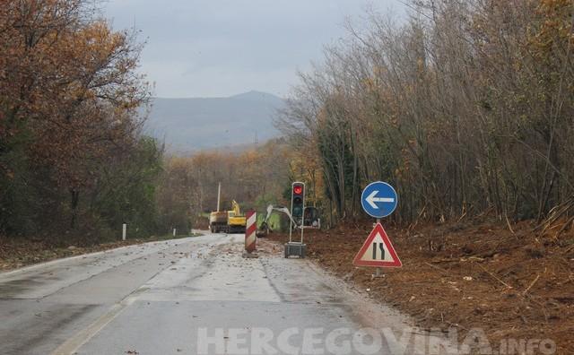 Radovi uz prometnicu Čapljina-Stolac