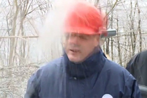 Srbijanskom ministru energetike kaciga spasila život