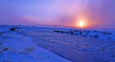 Tomislavgrad: Zaleđena rijeka Šuica