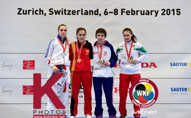 Europsko prvenstvo: Jelena Pehar osvojila brončanu medalju