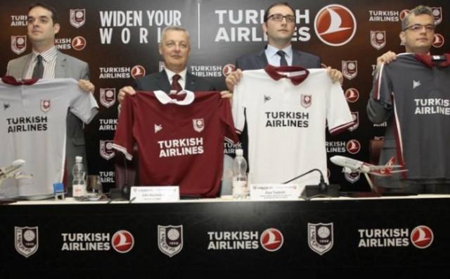 Turkish Airlines i FK Sarajevo službeno potpisali ugovor