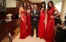 Silky event u znaku crvenih haljina uz brojne poznate