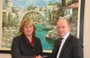 Veleposlanik Njemačke Christian Hellbach u nastupnom posjetu Gradu Mostaru