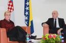 Predsjedatelj Bevanda razgovarao s predsjednicom Grabar - Kitarović