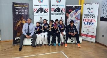 Natjecatelji karate kluba Brotnjo osvojili pet medalja u Jastrebarskom
