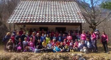 Održana manifestacija '100 žena u planini'