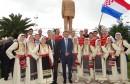 Dragan Čović na otvaranju Tuđmanovog spomenika u Pločama