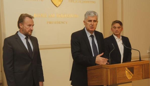 Čović: Igra je završena, partnerstvo između HDZ-a, SDA i DF-a nije partnerstvo