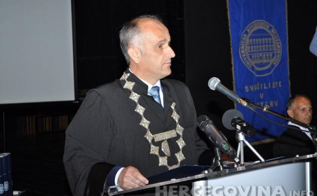 Prof. dr. sc. Mario Vasilj: Danas je velik dan za Vas, naš Fakultet i čitavu našu društvenu zajednicu