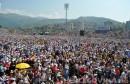 Papa Franjo na Koševu predvodio euharistijsko slavlje pred 70.000 vjernika