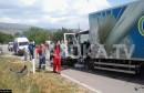 Knešpolje: U teškoj prometnoj nesreći smrtno stradala jedna osoba