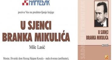 Najava: Predstavljanje knjige U sjenci Branka Mikulića