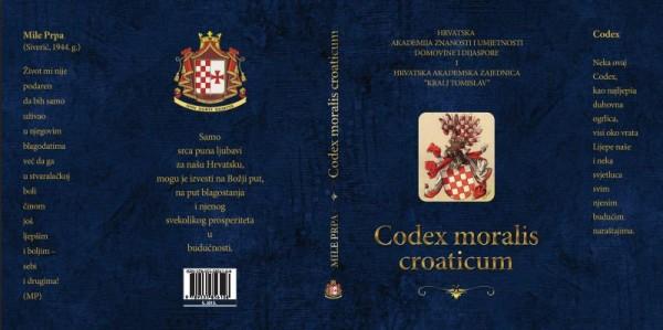 Codex moralis croaticum - pred promociju