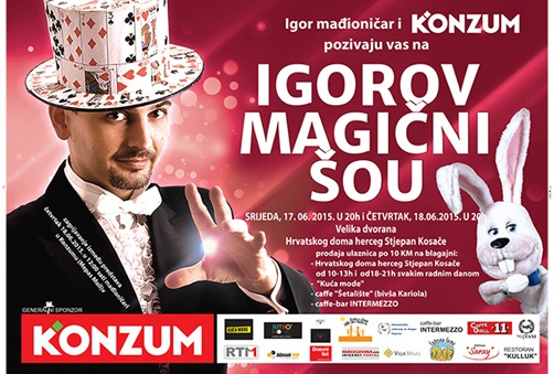 U Mostar sutra stiže 'Igorov magični šou'