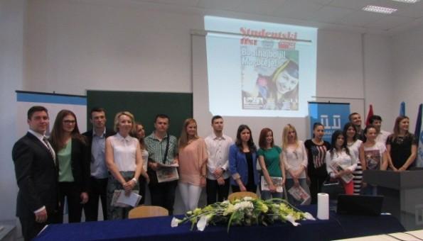 Studentski list potvrdio kvalitetu mladih novinara i Sveučilišta