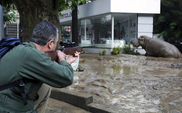 Panika na ulicama Tbilisija