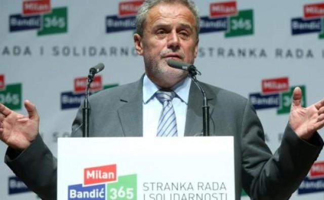 """Bandić: """"Uozbiljite se i počnite raditi posao u interesu ove zemlje"""""""