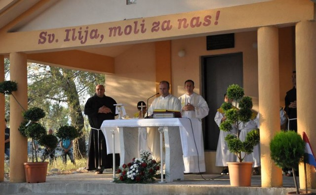 Don Damir Stojić predvodio misno slavlje na Gradini