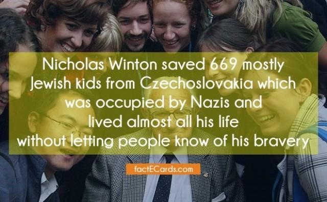 Preminuo Nicholas Winton: ON je spasio 669 djece i nikad se time nije pohvalio