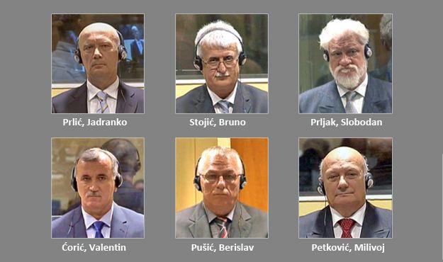 Prlić, Stojić, Praljak, Petković, Ćorić i Pušić dokazuju da nisu krivi ni oni ni hrvatski narod