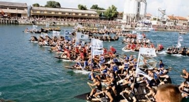 Hrvatska ratna mornarica prvi put sudjeluje na Maratonu lađa na Neretvi
