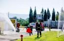 Aluminij Mostar: Požar izazvan zapaljenjem goriva, između dvije postaje s uskladištenim plinom