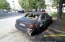 Predsjedniku udruge dioničara Aluminija zapaljen automobil