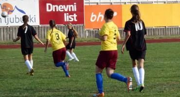 Nogometašice Čapljine uvjerljivo nadigrale djevojke Sloge iz Ljubuškog
