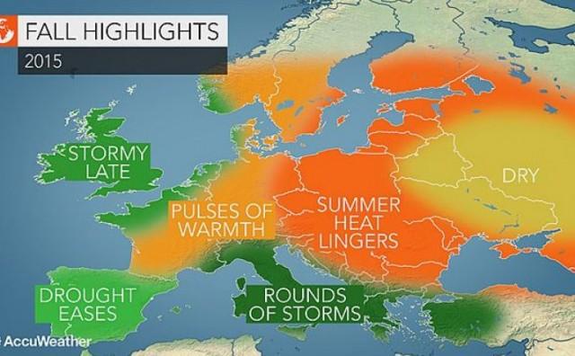 Pripremite se za vruću jesen! Balkan na udaru ekstremnog vremena!