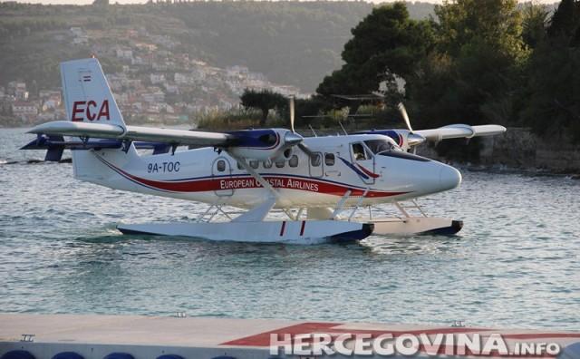 Privremena obustava svih operacija i letova hidroaviona tvrtke ECA
