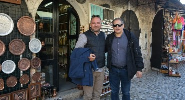 Kristijan Milić u Mostaru tražio lokaciju za snimanje filma
