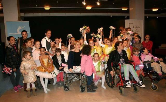 Mostar: Udruga Let.ba i baletska škola Arabesqueza djecu za posebnim potrebama