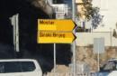 Široki Brijeg: Ćirilica preko noći opet nestala s prometnih znakova