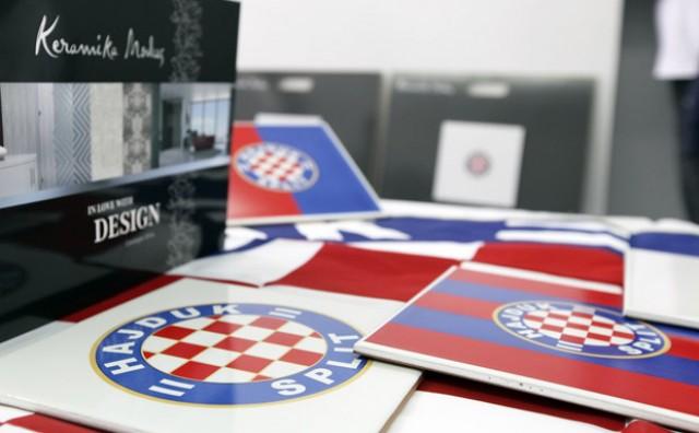 Predstavljene keramičke dekor pločice Hajduk