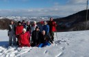 Odred Izviđača Radobolja Mostar na zimovanju u planinarskom domu Zaselje
