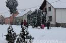 Sniježne dječije radosti u Slavoniji