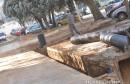 Mostar: Radovi na odvodnji oborinskih voda pri kraju