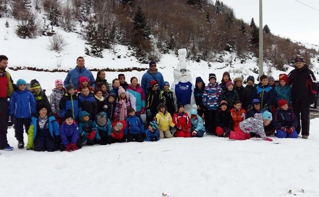 Sport Talent Mostar uspješno organizirao  školu skijanja