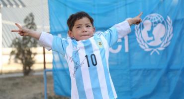 Evo kako je Messi razveselio dječaka iz Afganistana!