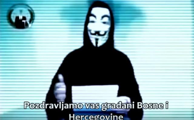 Vlasti u BiH mogu mirno spavati: Prijetnja Anonymousa sociološki eksperiment