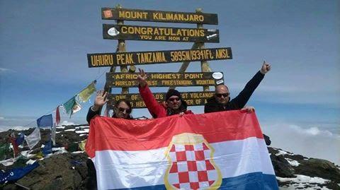 Hrvatski branitelji osvojili Kilimanjaro