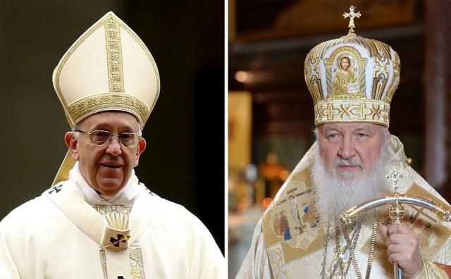 Povijesni susret Svetog Oca i patrijarha Ruske Pravoslavne Crkve Kirila