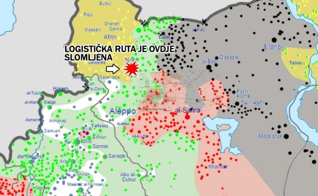 Kurdske snage preuzele su kontrolu nad zračnom bazom Menagh