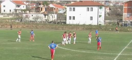 Sjajan pogodak mladog nogometaša Blagaja na utakmici protiv Sloge