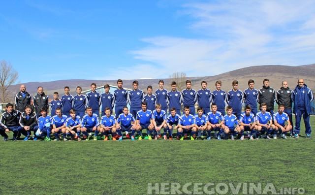 Odrađena trening utakmica pionirske BIH reprezentacije u Hercegovini