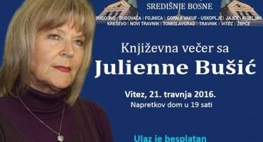 Književna večer sa Julienne Bušić