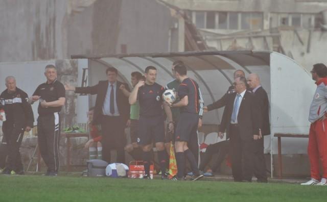 """Vugdalić: Pored vratara Pirića su navijači Veleža bacili najmanje desetak """"topovskih udara"""""""