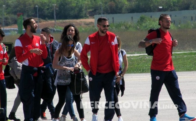 Nogometaši Barija stigli u posjet Mostaru, Međugorju i HŠK Zrinjski