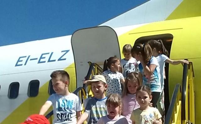Mostar: Vrtić Cipelići u posjeti Zračnoj luci Mostar